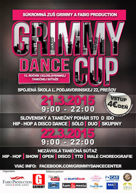 Grimmy dance cup [PO 21.3.2015 o 09:00]
