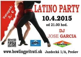 Latino party [ 10.4.2015 o 21:00]