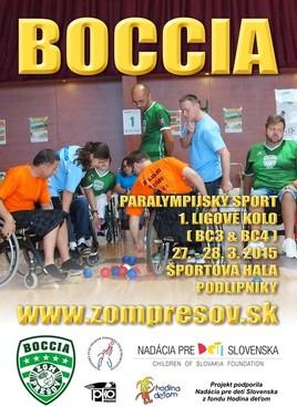 Boccia turnaj [iné 28.3.2015 o 09:00]