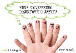 Kurz Slovenského posunkového jazyka [PO 1.3.2015]