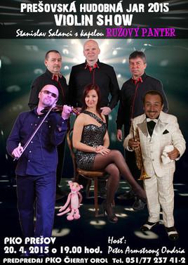 Violin show - Stanislav Salanci & Ružový Panter Band [PKO 20.4.2015 o 19:00]