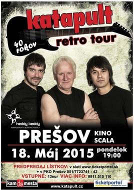 Katapult retro tour [SCALA 18.5.2015 o 19:00]