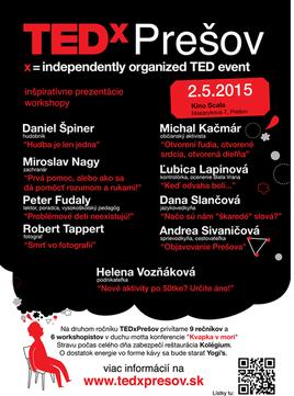 TEDx v Prešove [SCALA 2.5.2015]