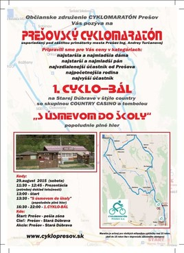 Prešovský cyklomaratón 2015 [PO 29.8.2015]