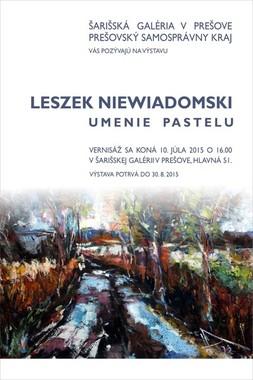 Leszek Niewiadomski - Umenie pastelu [ŠG 10.7.2015]