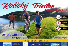 Prvý Košický Triatlon - triatlon pre každého [iné 29.8.2015 o 09:30]