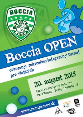 Boccia OPEN 2015 [PO 20.8.2015 o 09:45]