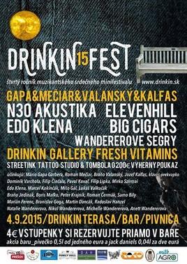 Drinkin Fest '15 [Drink In 4.9.2015 o 16:00]