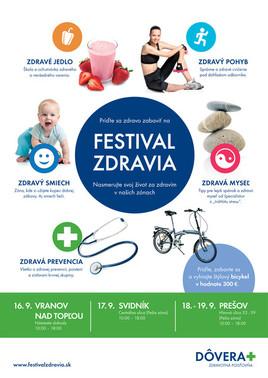 Festival zdravia [PO pešia zóna 18.9.2015 o 10:00]