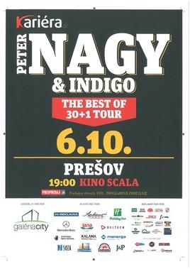 Peter Nagy a Indigo - THE BEST OF 30 ROKOV [SCALA 6.10.2015 o 19:00]